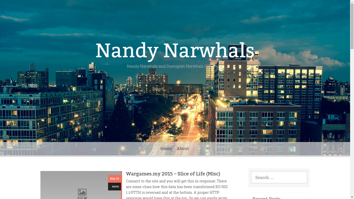 New Look for Nandy Narwhals!