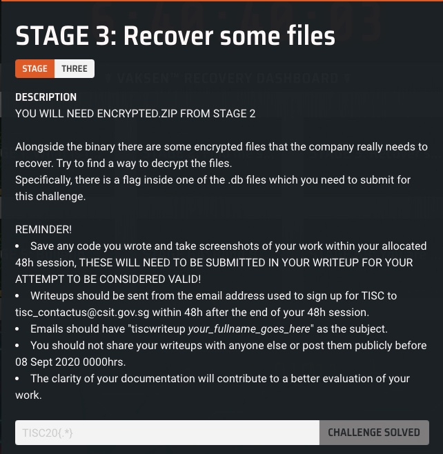 Stage 3 Description