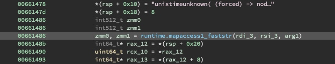 Excerpt of patched main.QbznvaAnzrTrarengvbaNytbevguz showing the unixtime retrieval